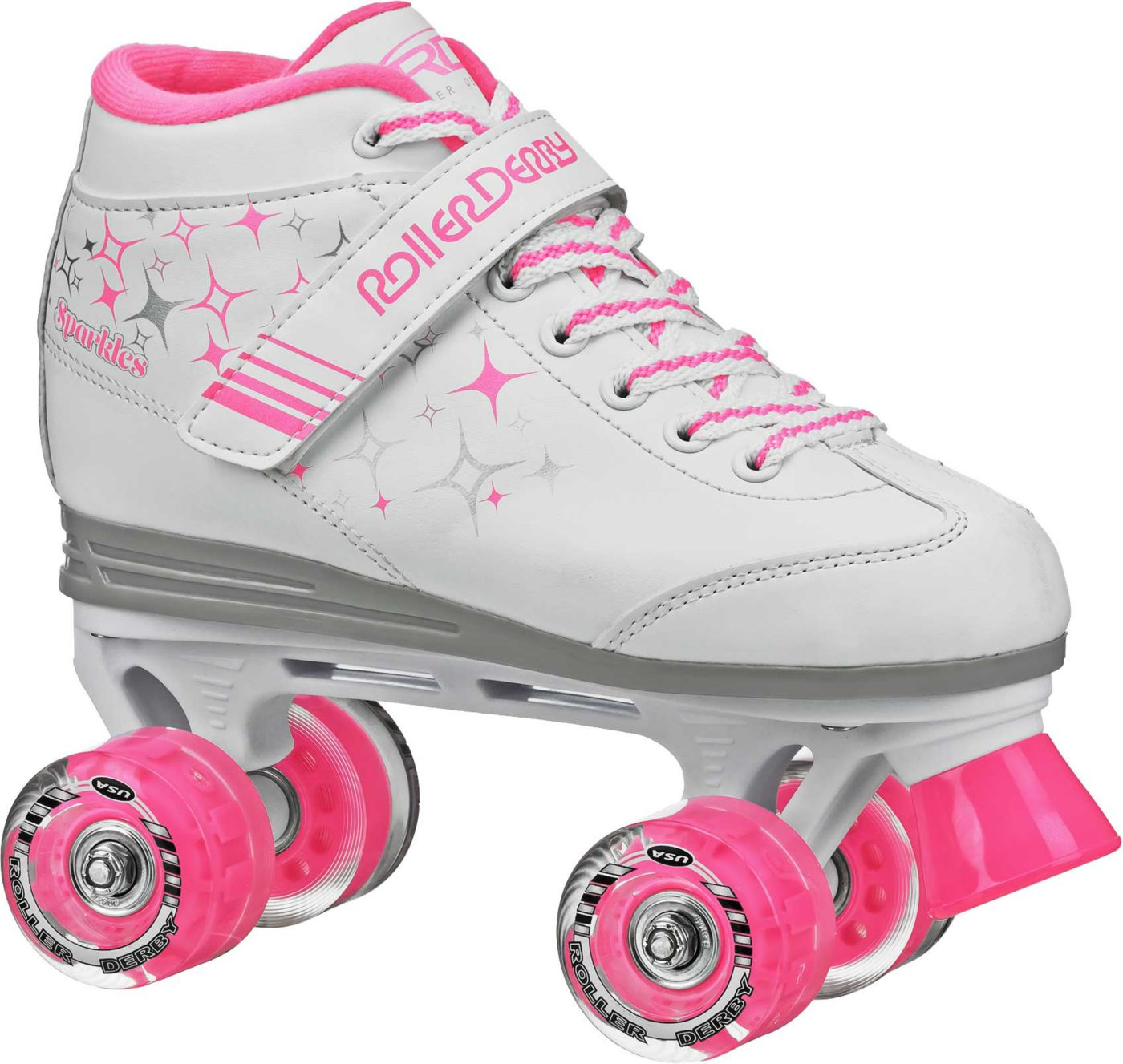 Roller Derby Girls' Sparkle Quad Roller Skates