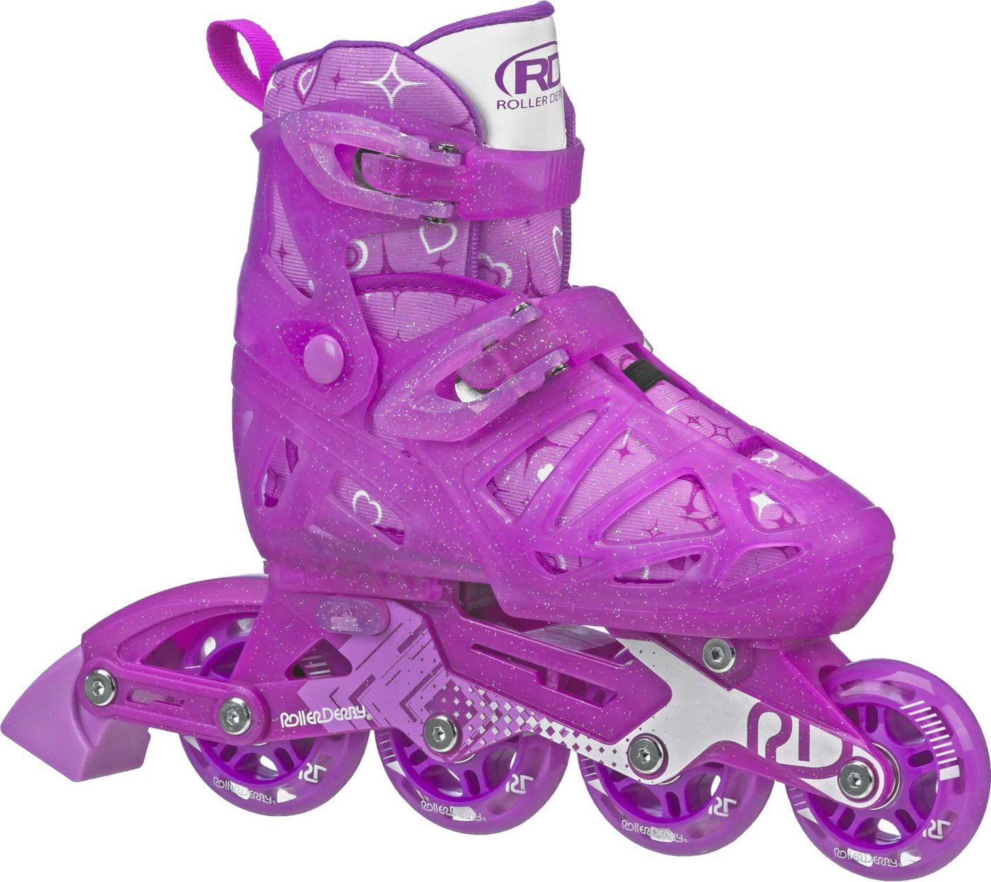 Roller Derby Girls' Tracer Adjustable Inline Skates
