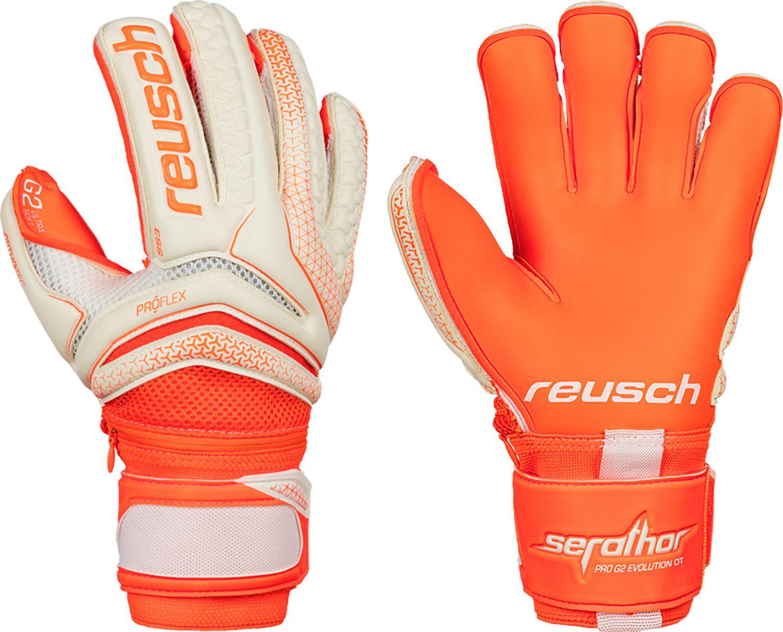 Reusch Adult Serathor Pro G2 Ortho-Tec Evolution Cut Soccer Goalkeeper  Gloves 7d336b40b2