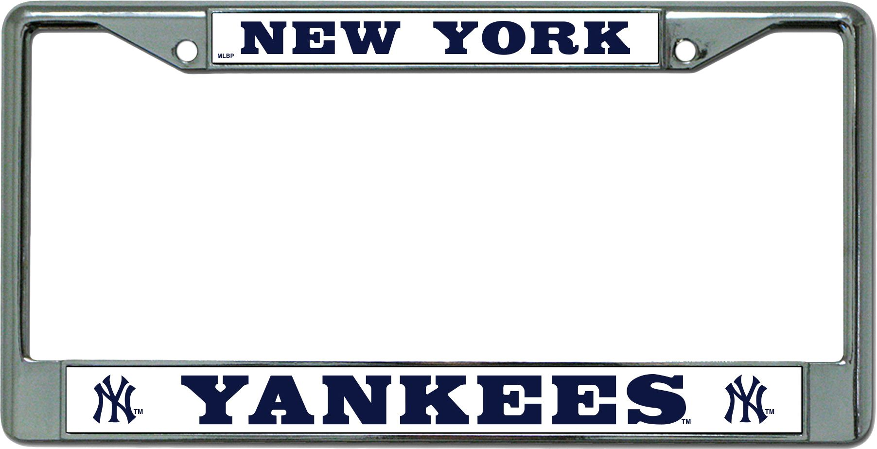 Rico New York Yankees Chrome License Plate Frame | DICK\'S Sporting Goods