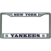 Rico New York Yankees Chrome License Plate Frame