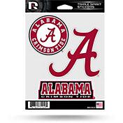 Rico Alabama Crimson Tide Triple Spirit Stickers