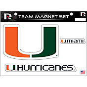 Rico Miami Hurricanes Magnet Sheet
