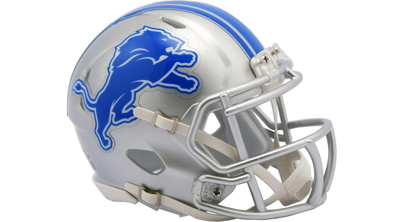 Riddell Detroit Lions Speed Mini Helmet