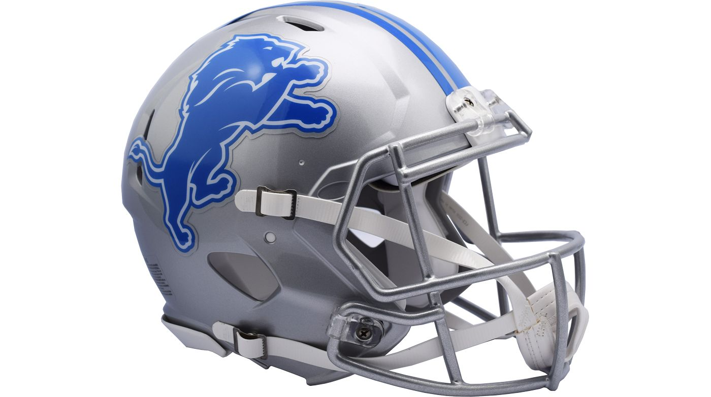 Riddell Detroit Lions Speed Authentic Full-Size Helmet