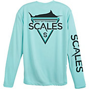 Scales Men's Bermuda Performance Long Sleeve Shirt