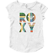 Roxy Girls' Fiesta Beach Cap Sleeve T-Shirt
