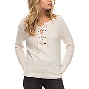 Roxy Women's My Little Bliss Lace-Up Sweater