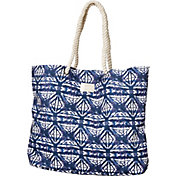 Roxy Women's Tropic Vibe Printed Tote Bag