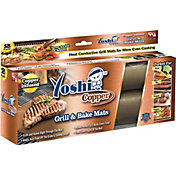 Yoshi Copper Grill and Bake Mats – As Seen on TV