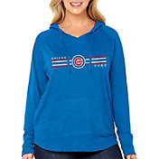 Soft As A Grape Women's Chicago Cubs Hoodie - Plus Size