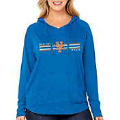 Soft As A Grape Women's New York Mets Hoodie - Plus Size