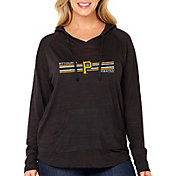 Soft As A Grape Women's Pittsburgh Pirates Hoodie - Plus Size