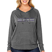 Soft As A Grape Women's Colorado Rockies Hoodie - Plus Size