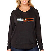 Soft As A Grape Women's Baltimore Orioles Hoodie - Plus Size