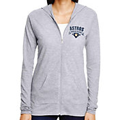 Soft As A Grape Women's Houston Astros Full-Zip Hoodie