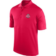 Scarlet & Gray Men's Ohio State Buckeyes Scarlet Spector Polo