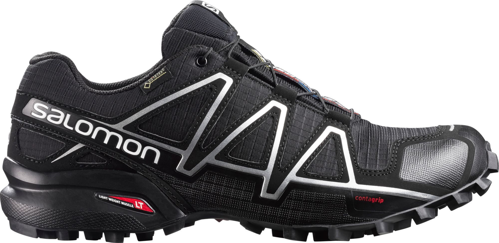 new style 1c936 cdb6f Salomon Men s Speedcross 4 GTX Waterproof Trail Running Shoes   DICK S  Sporting GoodsProposition 65 warning iconProposition 65 warning icon