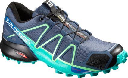 Salomon Women's Speedcross 4 CS Waterproof Trail Running Shoes. noImageFound