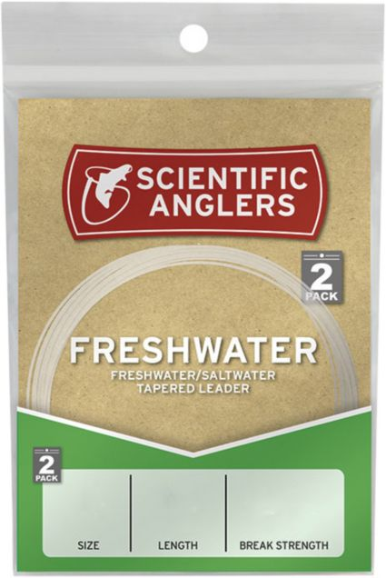 Scientific Anglers Freshwater Leader – 7.5 ft.