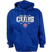 Stitches Youth Chicago Cubs Royal Pullover Hoodie