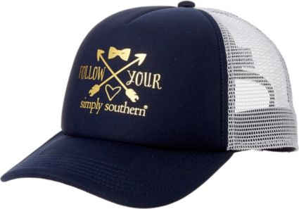 04621ee8c71 Simply Southern Women s Distressed Love Trucker Hat. noImageFound