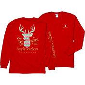 Simply Southern Women's Deer Long Sleeve T-Shirt