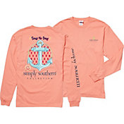 Simply Southern Women's Anchor Long Sleeve T-Shirt