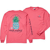 Simply Southern Women's Pineapple Long Sleeve T-Shirt