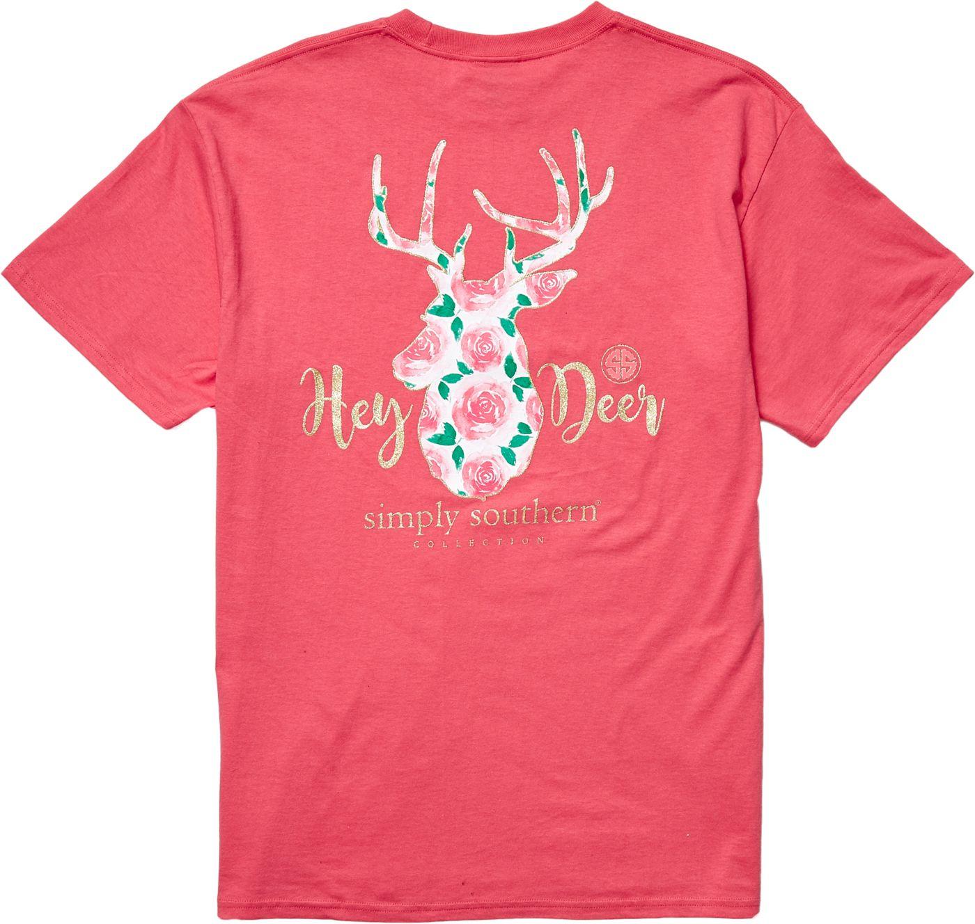 Simply Southern Women's Deer T-Shirt