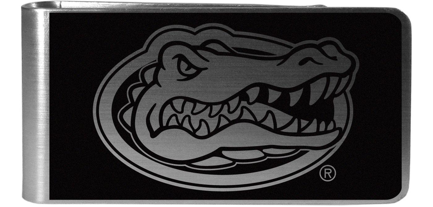 Florida Gators Black and Steel Money Clip