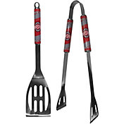 Ohio State Buckeyes 2-Piece Steel BBQ Tool Set