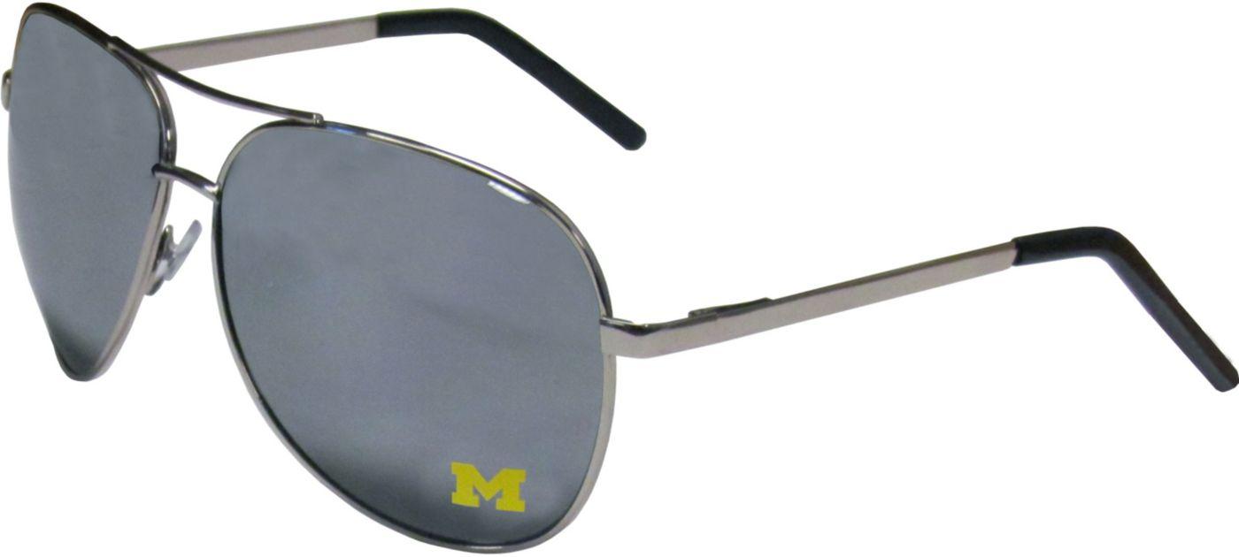 Michigan Wolverines Aviator Sunglasses
