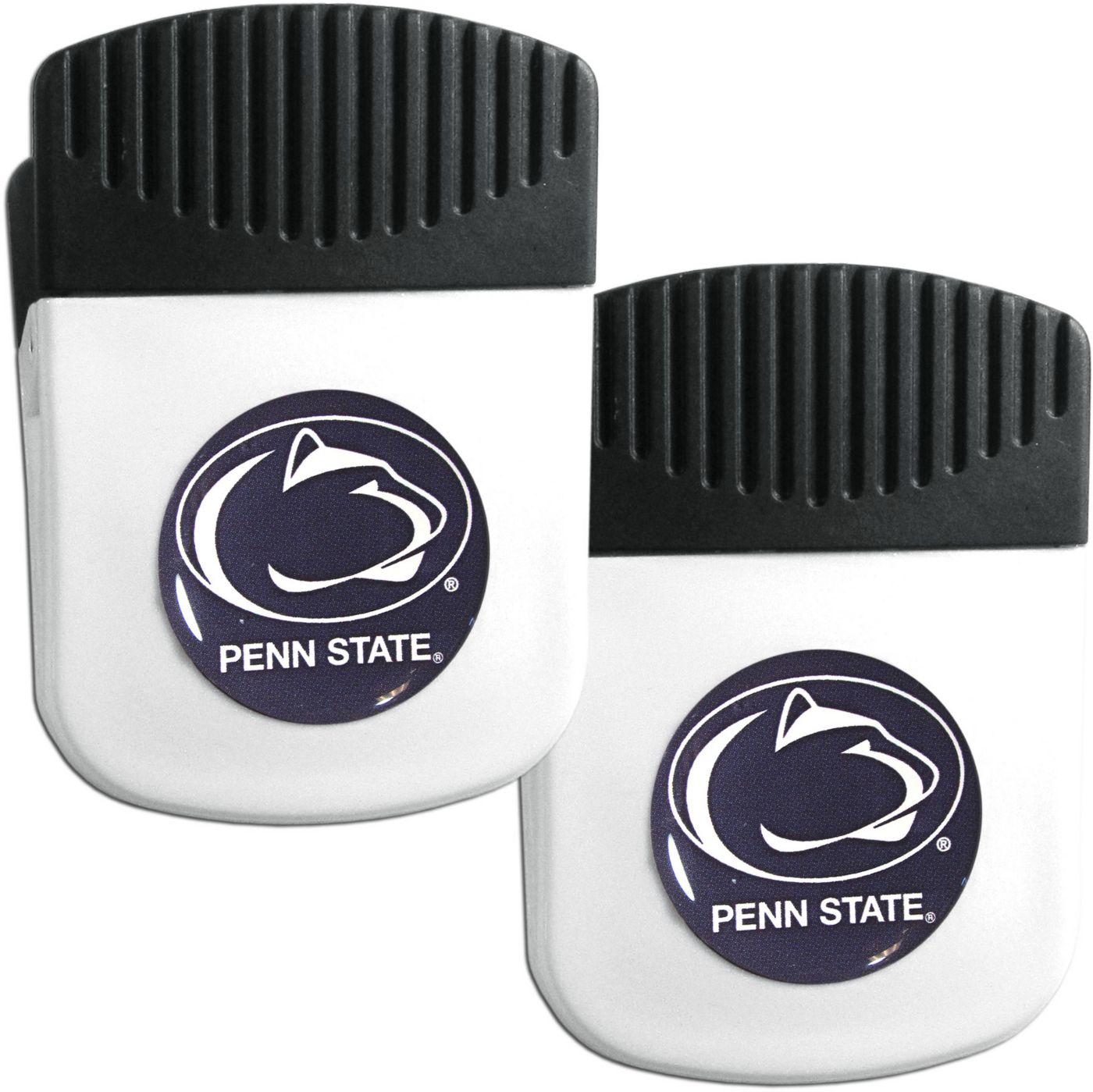 Penn State Nittany Lions Chip Clip Magnet and Bottle Opener 2 Pack