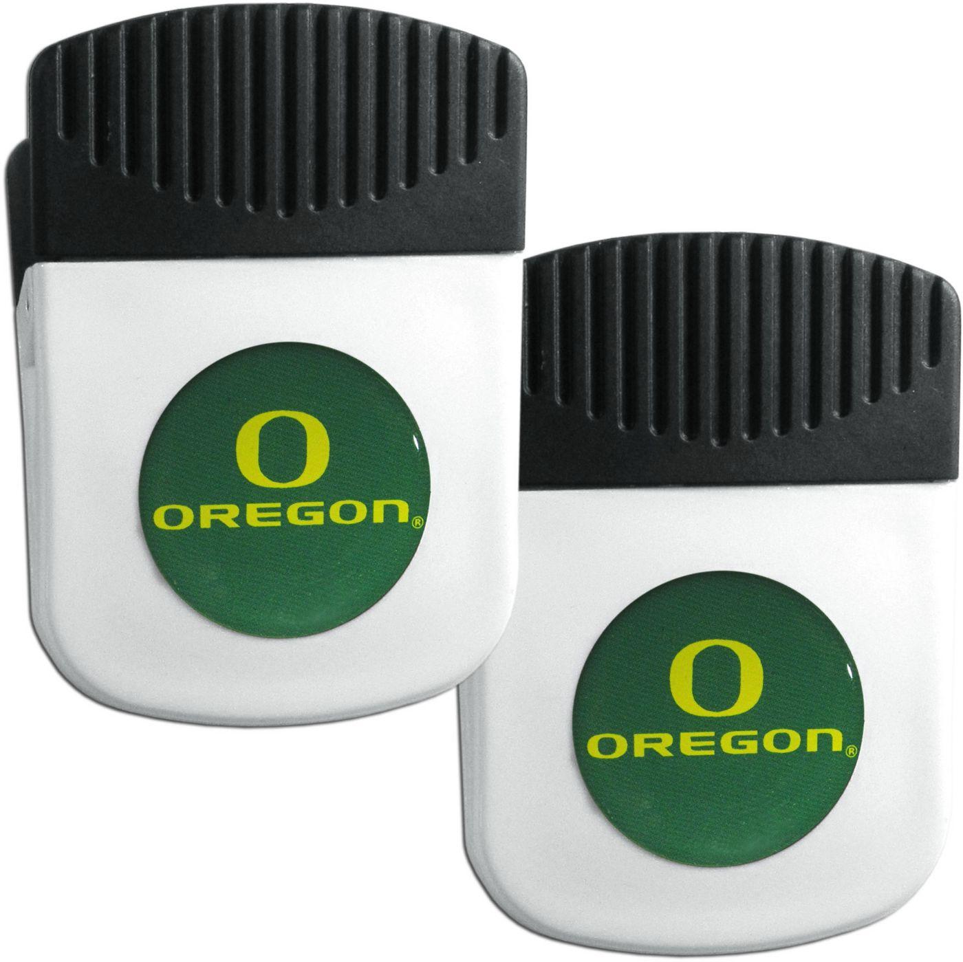 Oregon Ducks Chip Clip Magnet and Bottle Opener 2 Pack