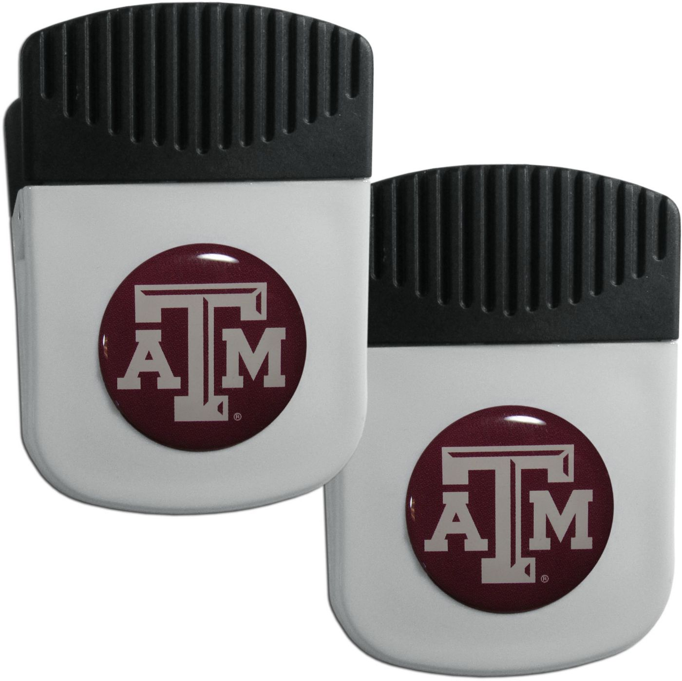 Texas A&M Aggies Chip Clip Magnet and Bottle Opener 2 Pack
