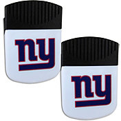 New York Giants Chip Clip Magnet and Bottle Opener 2 Pack
