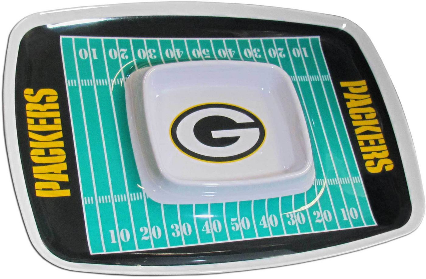 Green Bay Packers Chip and Dip Tray