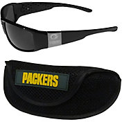 Green Bay Packers Wrap Sunglasses and Sport Case