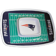New England Patriots Chip and Dip Tray