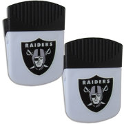 Oakland Raiders Chip Clip Magnet and Bottle Opener 2 Pack