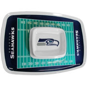 Seattle Seahawks Chip and Dip Tray