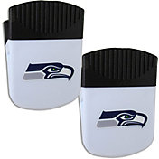 Seattle Seahawks Chip Clip Magnet and Bottle Opener 2 Pack
