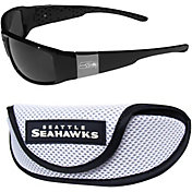 Seattle Seahawks Wrap Sunglasses and Sport Case