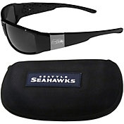 Seattle Seahawks Wrap Sunglasses and Hard Case