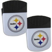 Pittsburgh Steelers Chip Clip Magnet and Bottle Opener 2 Pack