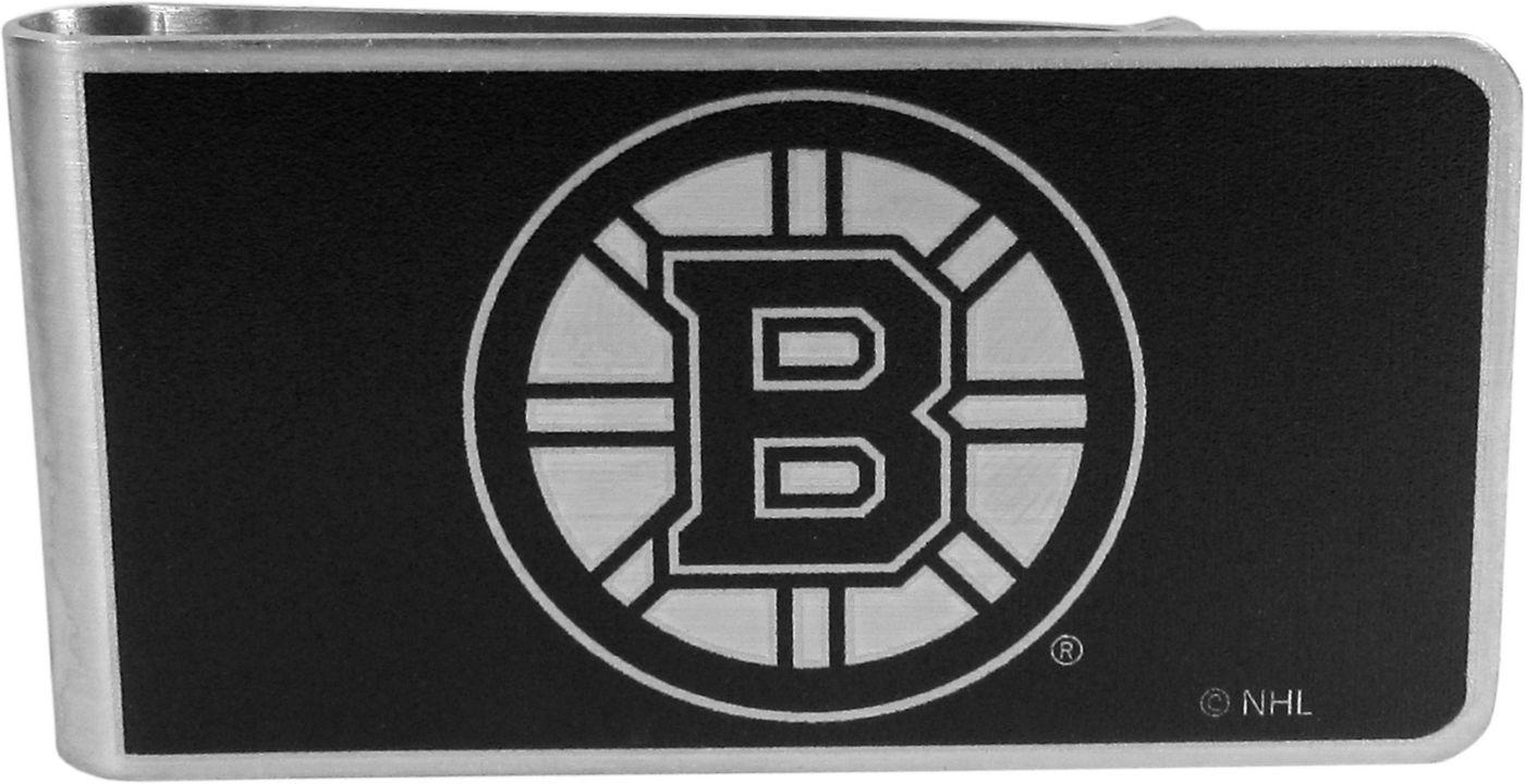 Boston Bruins Black and Steel Money Clip