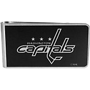 Washington Capitals Black and Steel Money Clip