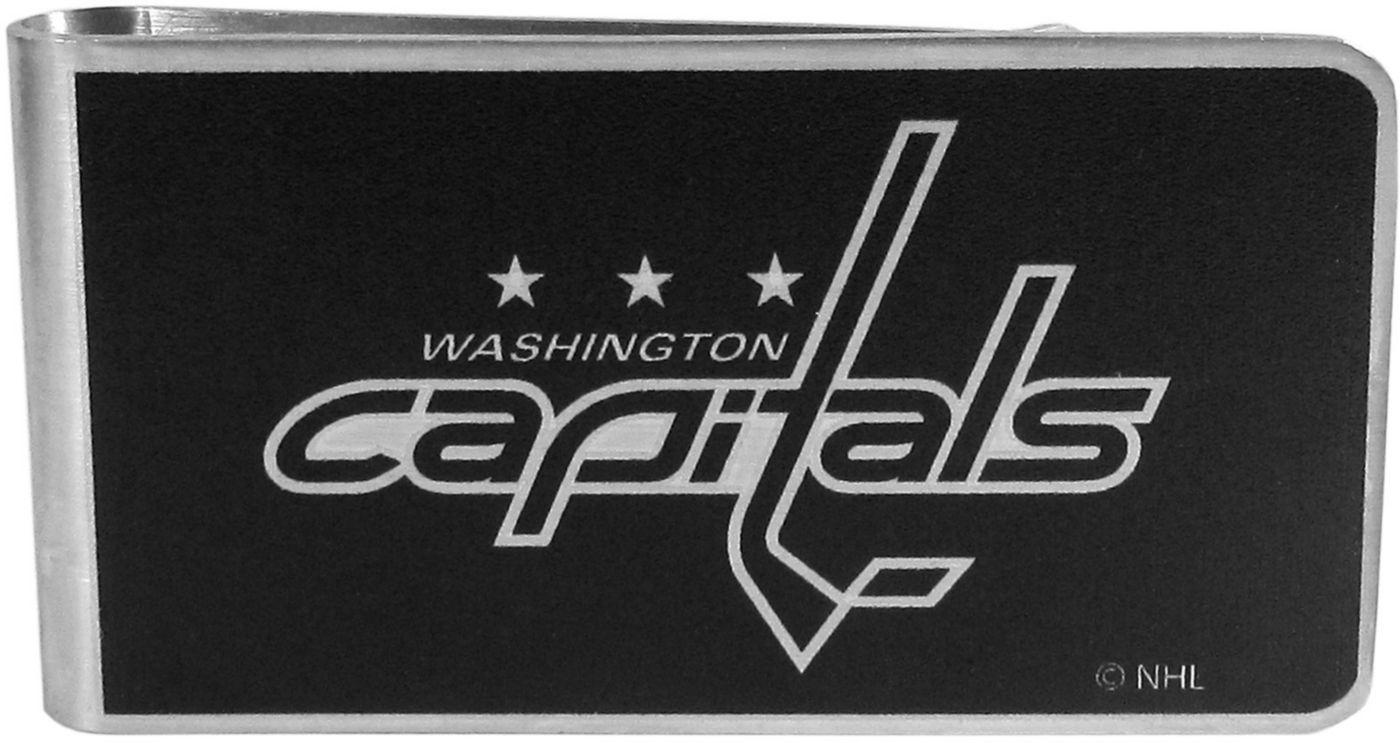 Washington Capitals Black and Steel Money Clip