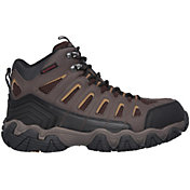 Skechers Men's Bixford Waterproof Steel Toe Work Boots